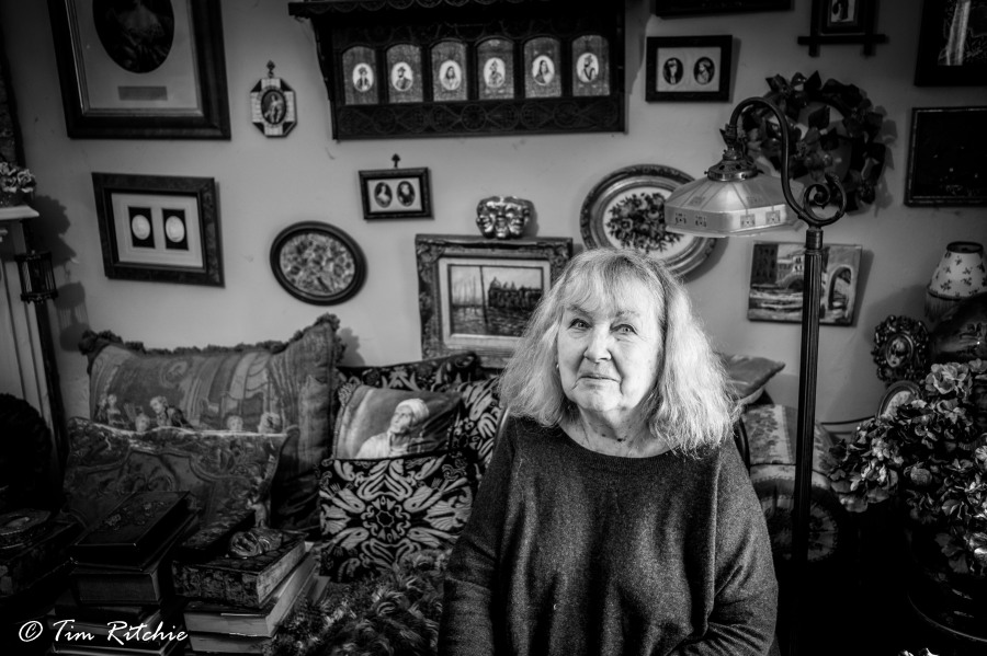 Claudette Roy (McElhorne Place): Eccentric
