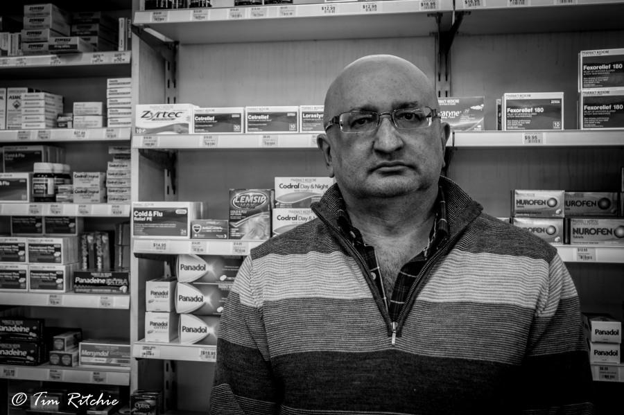 Naresh Parshotam: Pharmacist